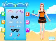 Pretty Girl At Beach на FlashRoom