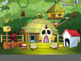 Village House Escape на FlashRoom