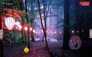 Игра Лес праздничных фонариков на FlashRoom