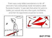 Blind Swordsman  на FlashRoom