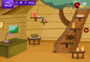 Игра Escape Hexa Tree House на FlashRoom