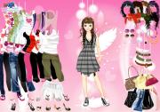 Feathers Dress Up Game