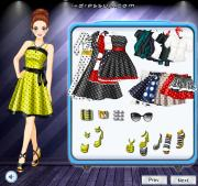 Polka Dots Full Skirt на FlashRoom