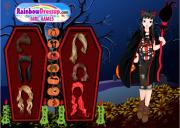 Halloween Treats Dress Up Game на FlashRoom