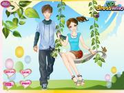 Couple on the Swing на FlashRoom