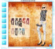 Fancy Printed Pants на FlashRoom