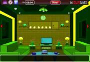 Игра Fancy Green House Escape фото