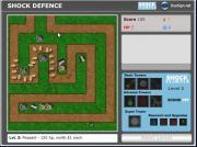 Игра Shock Defense на FlashRoom