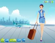 Beautiful Air Hostess на FlashRoom