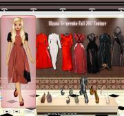 Ulyana Sergeenko Fall 2012 Couture на FlashRoom