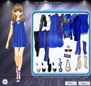 Cobalt Blue Style на FlashRoom