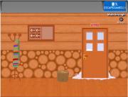 Winter Wooden House Escape на FlashRoom