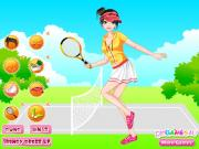Tennis Player Dressup