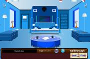 Modern Blue Room Escape на FlashRoom