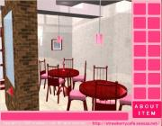 Strawberry cafe Escape на FlashRoom