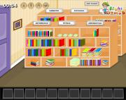 Игра Library Hall Escape фото