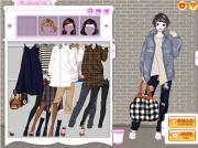 Late Autumn Dress Up Game