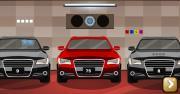 Modern Car Garage Escape на FlashRoom
