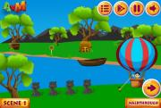 Игра Cute Boy Parachute Escape фото