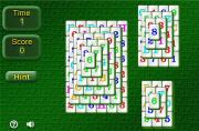 Multilevel mahjong solitaire. Маджонг солитер на FlashRoom