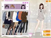 Late Autumn Dress Up Game на FlashRoom