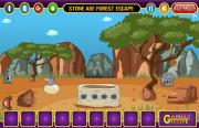 Игра Stone Age Forest Escape фото