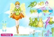Весенняя фея на FlashRoom