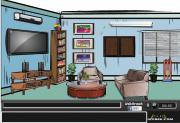 Modern Living Room Escape на FlashRoom