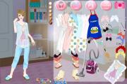 At home dress up game на FlashRoom