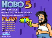 Hobo 5 Space Brawls: Attack of the Hobo Clones на FlashRoom