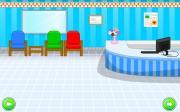 Игра Запертый в госпитале на FlashRoom