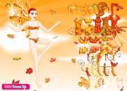Осенняя фея на FlashRoom