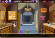 Escape via Bathroom на FlashRoom