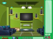 Green Front Room Escape на FlashRoom