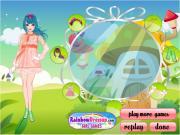 Windy Princess Dress Up Game на FlashRoom