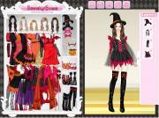 Halloween Princess Dress Up Game на FlashRoom