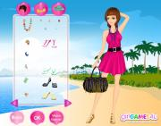 Romantic Beach Girl  на FlashRoom