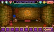 Игра Побег из тёмной каменной комнаты на FlashRoom