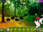 Игра Лес влюбленных голубей на FlashRoom