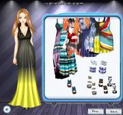 Tie Dye Dresses на FlashRoom