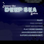 Игра James the Deep Sea Zebra фото