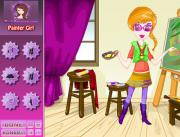 Painter Girl Dress Up на FlashRoom