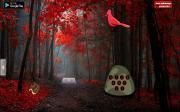 Красный осенний лес на FlashRoom