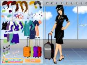 Stewardess Dress Up Game