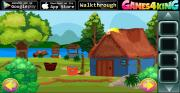 Игра Blue Hut Escape фото