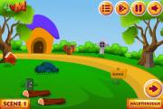 Greeny Forest Hut Escape на FlashRoom