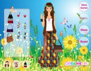 Игра Hippie Style Dress Up фото