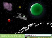 E.T. Escapes The Solar System на FlashRoom