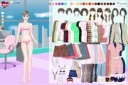 Preppy Style Dress up game
