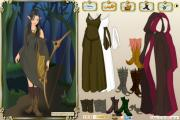 Wood elf dress up game на FlashRoom